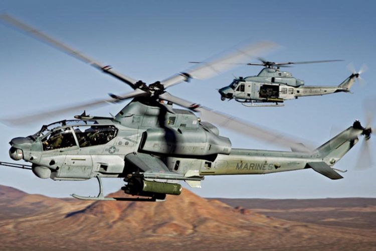 AH-1W SUPER COBRA attack helicopter military weapon aircraft (9) wallpaper