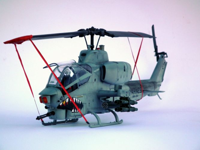 AH-1W SUPER COBRA attack helicopter military weapon aircraft (22) wallpaper