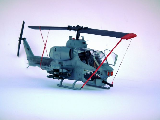 AH-1W SUPER COBRA attack helicopter military weapon aircraft (21) wallpaper