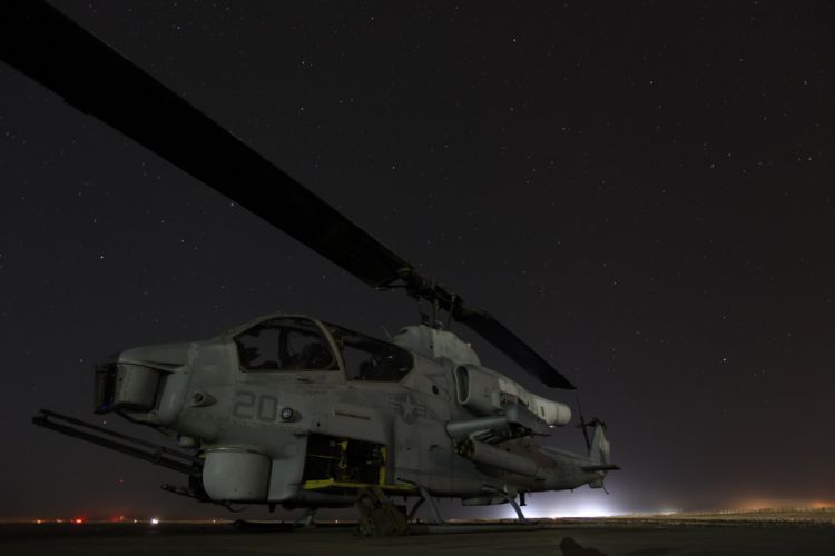 AH-1W SUPER COBRA attack helicopter military weapon aircraft (20) wallpaper