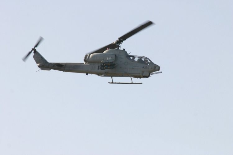 AH-1W SUPER COBRA attack helicopter military weapon aircraft (27) wallpaper
