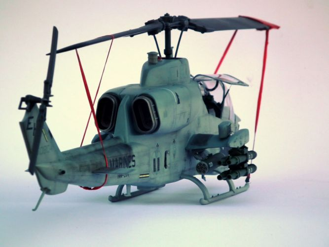 AH-1W SUPER COBRA attack helicopter military weapon aircraft (24) wallpaper