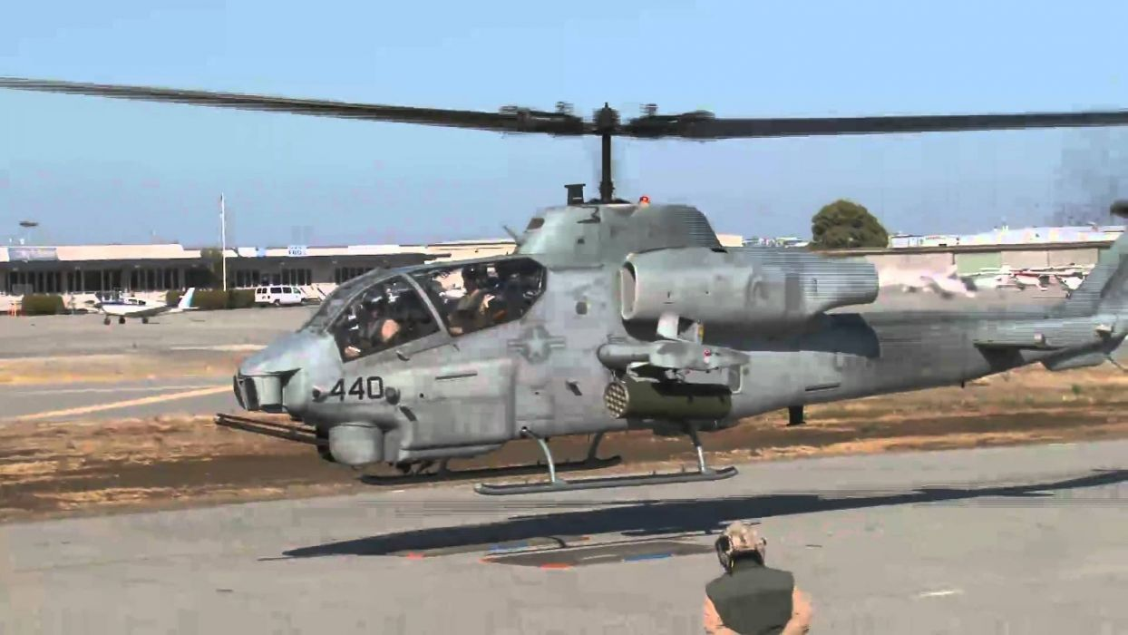 AH-1W SUPER COBRA attack helicopter military weapon aircraft (43) wallpaper