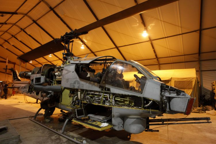 AH-1W SUPER COBRA attack helicopter military weapon aircraft (74)_JPG wallpaper
