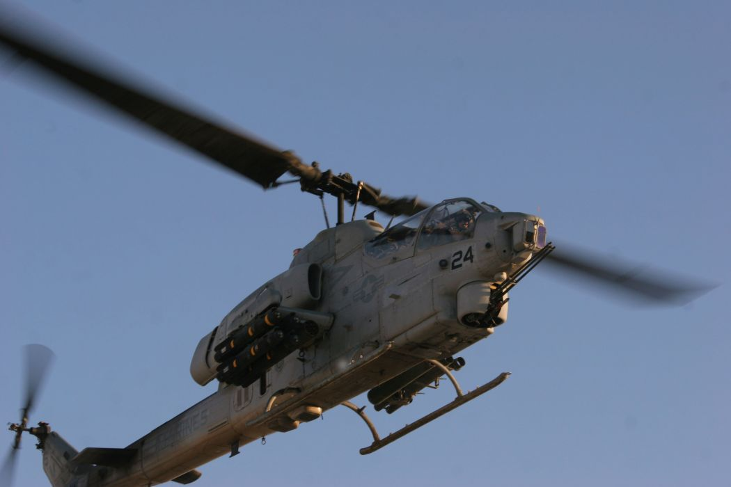 AH-1W SUPER COBRA attack helicopter military weapon aircraft (65) wallpaper