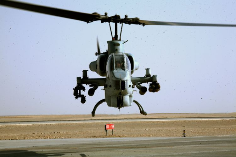 AH-1W SUPER COBRA attack helicopter military weapon aircraft (67) wallpaper