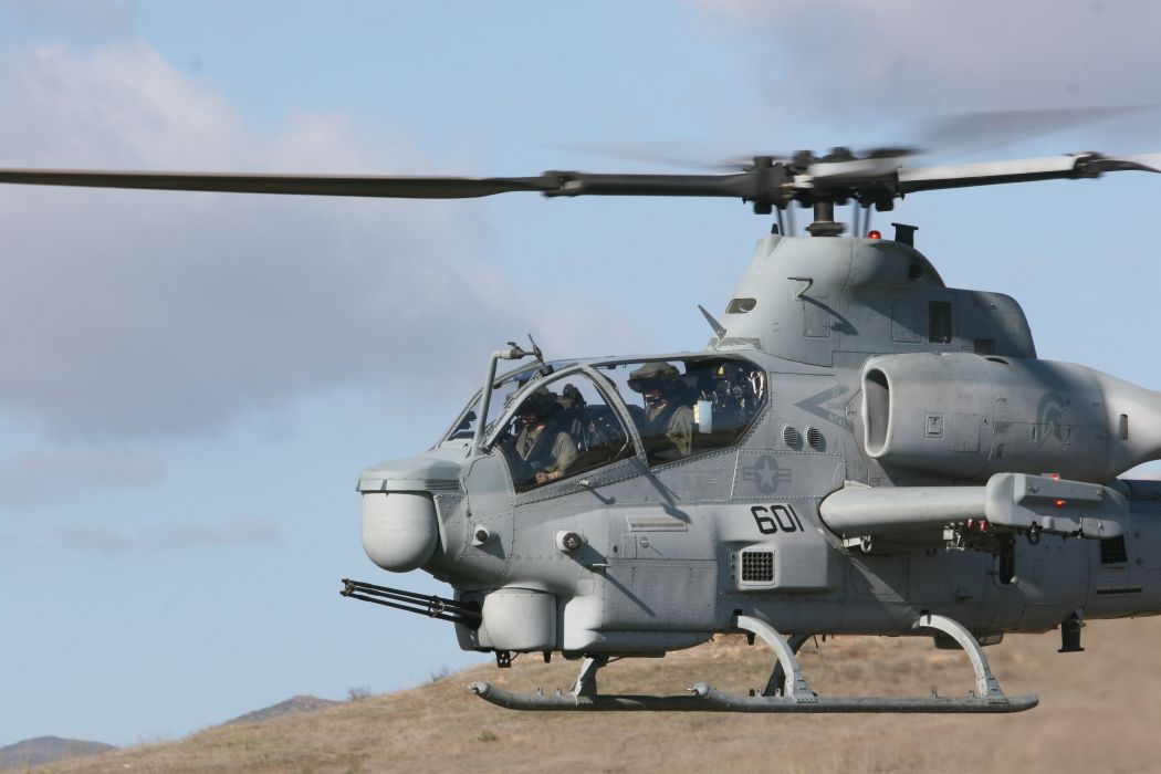 AH-1W SUPER COBRA attack helicopter military weapon aircraft (70) wallpaper