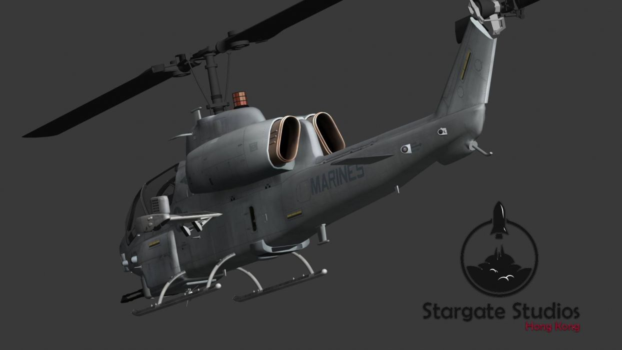 AH-1W SUPER COBRA attack helicopter military weapon aircraft (81) wallpaper