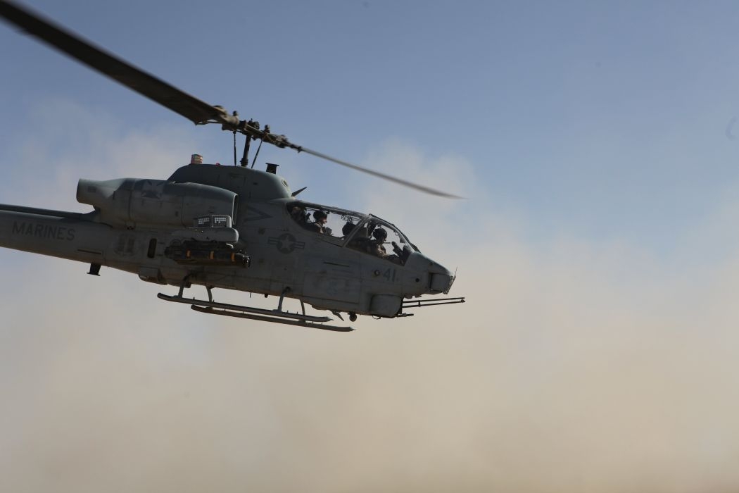 AH-1W SUPER COBRA attack helicopter military weapon aircraft (85) wallpaper