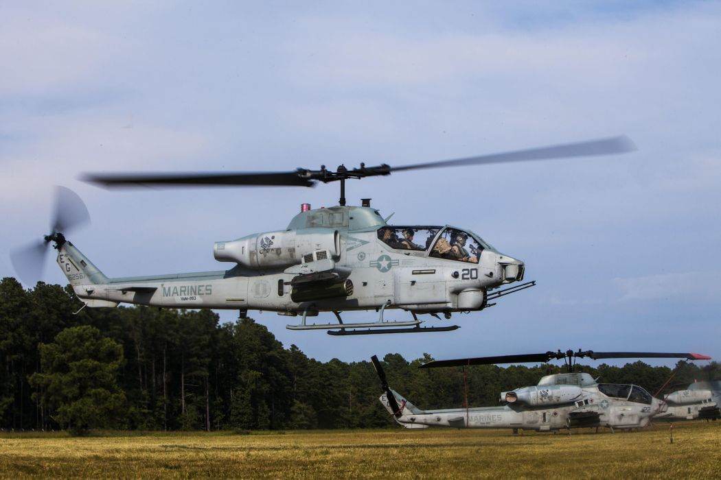 AH-1W SUPER COBRA attack helicopter military weapon aircraft (76)_JPG wallpaper