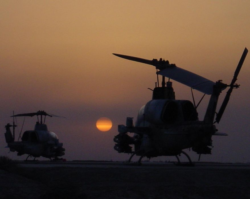AH-1W SUPER COBRA attack helicopter military weapon aircraft (95) wallpaper