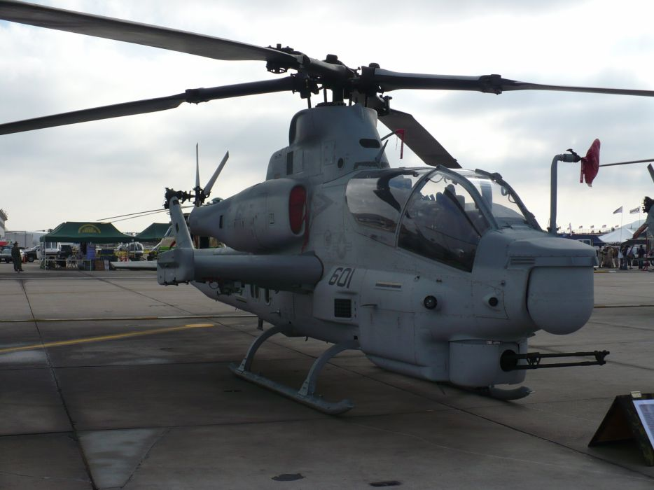AH-1W SUPER COBRA attack helicopter military weapon aircraft (93) wallpaper