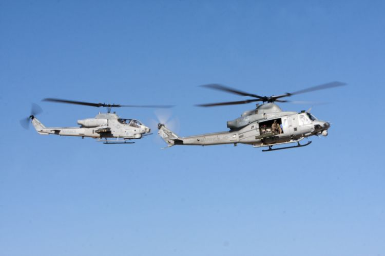 AH-1W SUPER COBRA attack helicopter military weapon aircraft (94) wallpaper