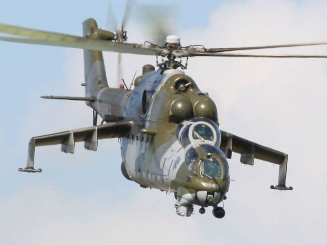 Mi-24 HIND GUNSHIP russian russia military weapon helicopter aircraft (10) wallpaper