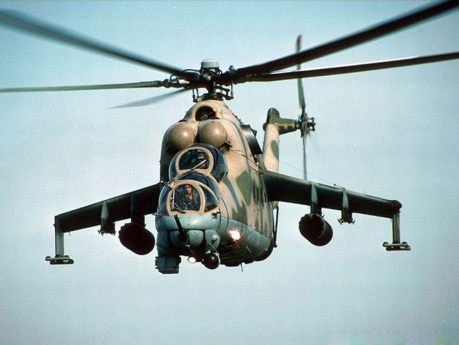 Mi-24 HIND GUNSHIP russian russia military weapon helicopter aircraft (9) wallpaper