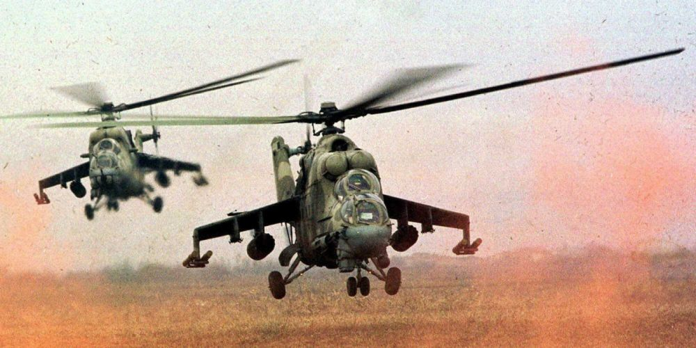 Mi-24 HIND GUNSHIP russian russia military weapon helicopter aircraft (1) wallpaper