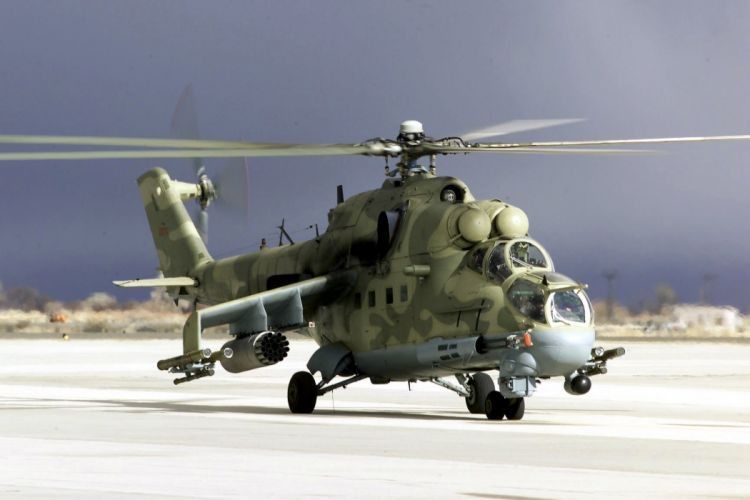 Mi-24 HIND GUNSHIP russian russia military weapon helicopter aircraft (22) wallpaper