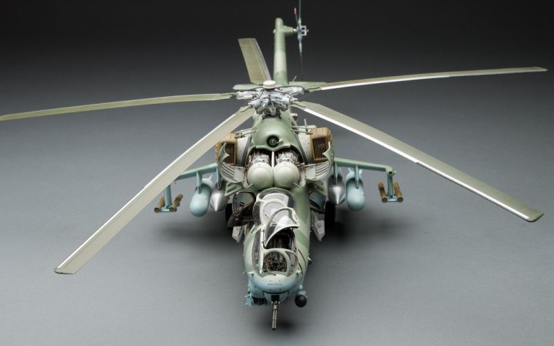 Mi-24 HIND GUNSHIP russian russia military weapon helicopter aircraft (19) wallpaper