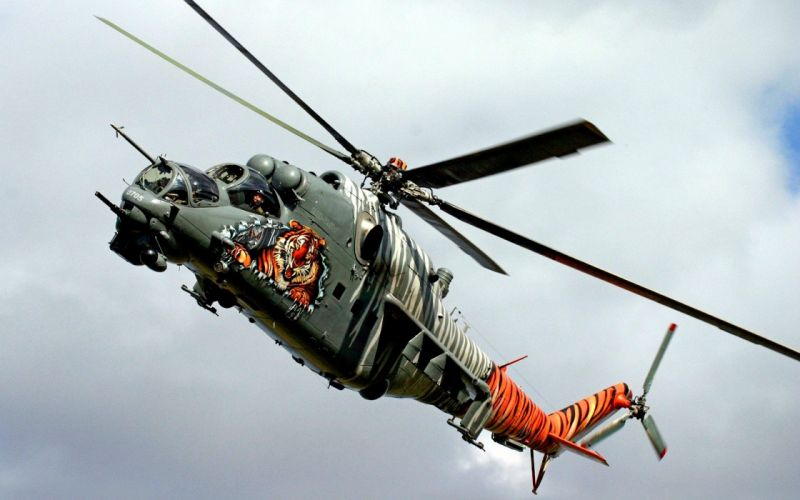 Mi-24 HIND GUNSHIP russian russia military weapon helicopter aircraft (20) wallpaper