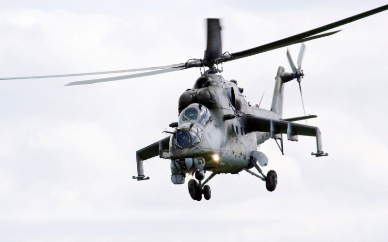 Mi-24 HIND GUNSHIP russian russia military weapon helicopter aircraft (21) wallpaper