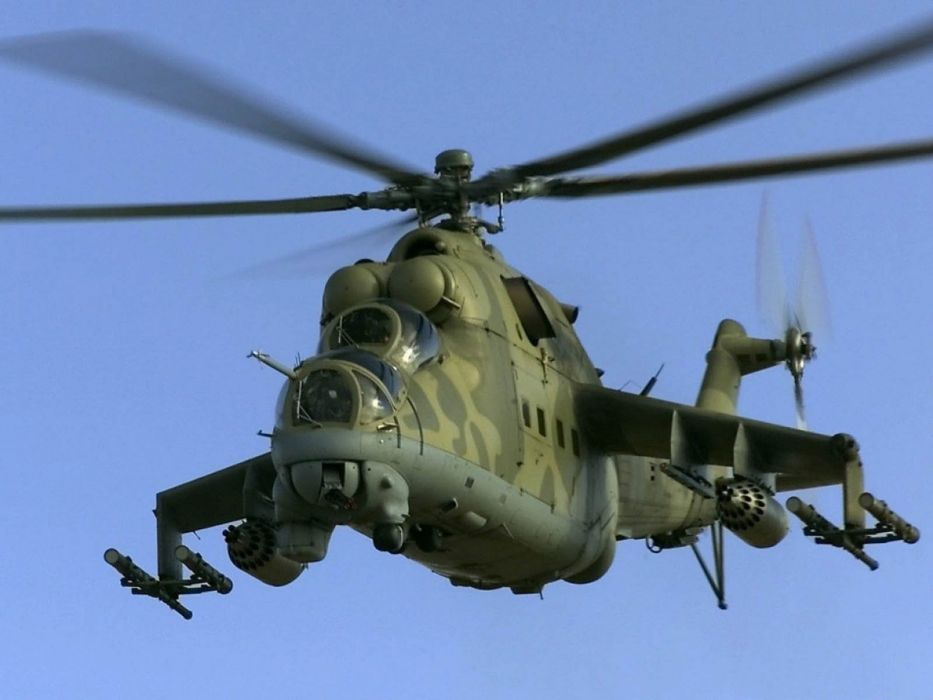 Mi-24 HIND GUNSHIP russian russia military weapon helicopter aircraft (15) wallpaper