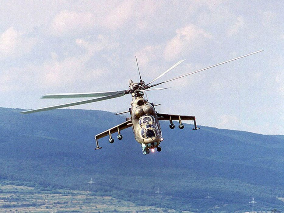 Mi-24 HIND GUNSHIP russian russia military weapon helicopter aircraft (11) wallpaper