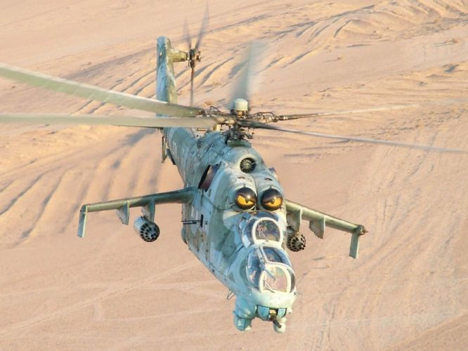 Mi-24 HIND GUNSHIP russian russia military weapon helicopter aircraft (14) wallpaper