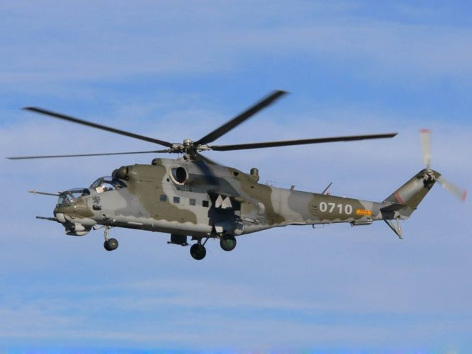 Mi-24 HIND GUNSHIP russian russia military weapon helicopter aircraft (12) wallpaper