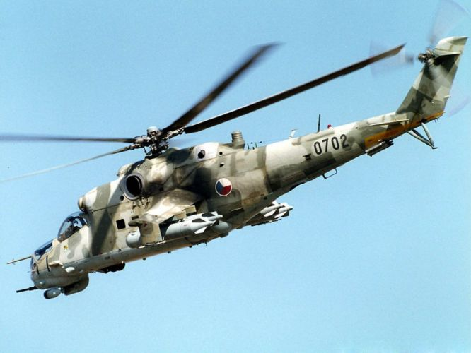 Mi-24 HIND GUNSHIP russian russia military weapon helicopter aircraft (13) wallpaper