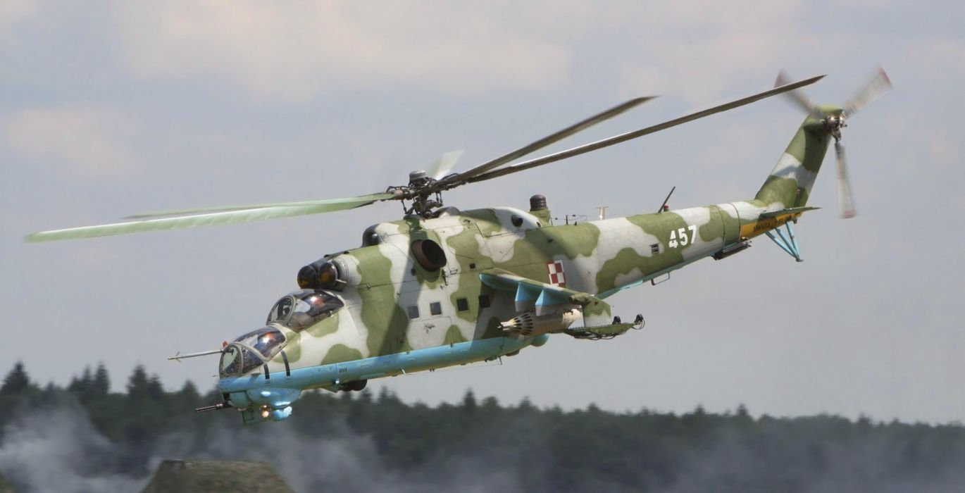 Mi-24 HIND GUNSHIP russian russia military weapon helicopter aircraft (27) wallpaper