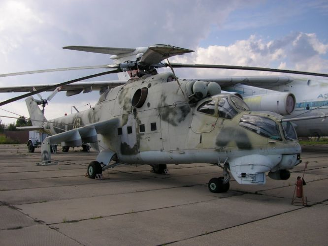 Mi-24 HIND GUNSHIP russian russia military weapon helicopter aircraft (23) wallpaper