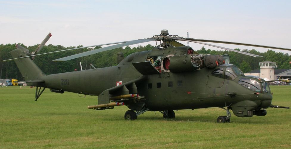 Mi-24 HIND GUNSHIP russian russia military weapon helicopter aircraft (24) wallpaper