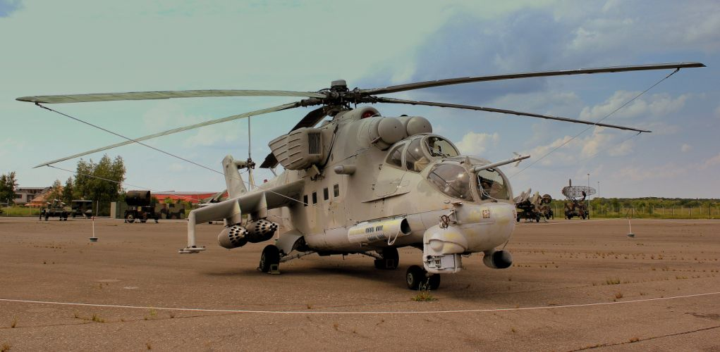 Mi-24 HIND GUNSHIP russian russia military weapon helicopter aircraft (33) wallpaper