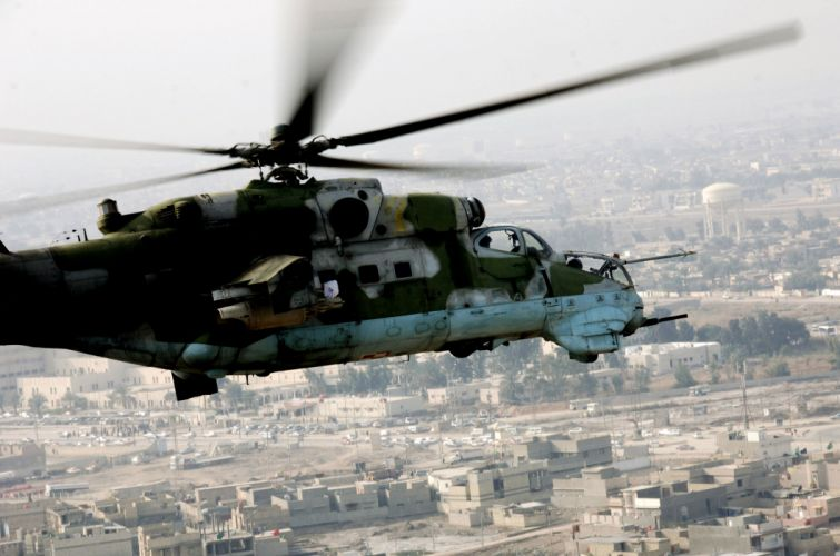 Mi-24 HIND GUNSHIP russian russia military weapon helicopter aircraft (66) wallpaper