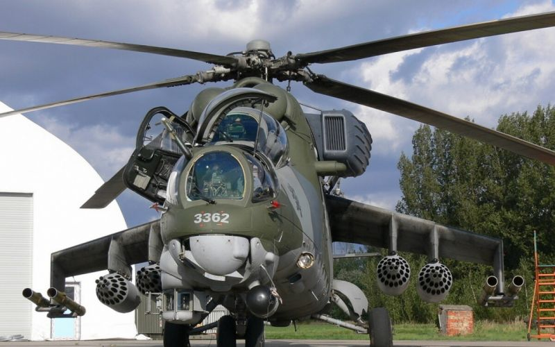 Mi-24 HIND GUNSHIP russian russia military weapon helicopter aircraft (68) wallpaper