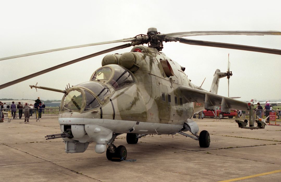 Mi-24 HIND GUNSHIP russian russia military weapon helicopter aircraft (62) wallpaper