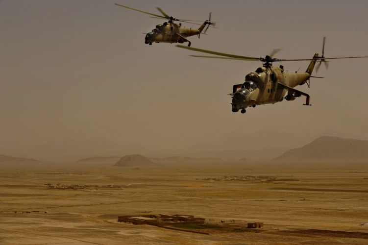 Mi-24 HIND GUNSHIP russian russia military weapon helicopter aircraft (58) wallpaper