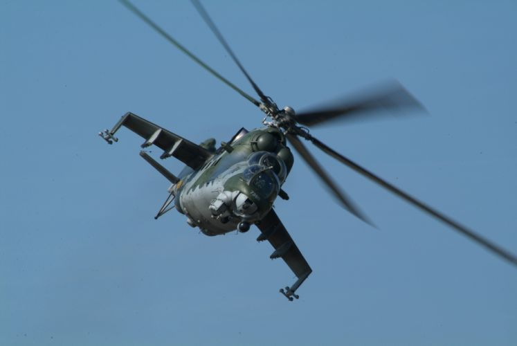 Mi-24 HIND GUNSHIP russian russia military weapon helicopter aircraft (56) wallpaper