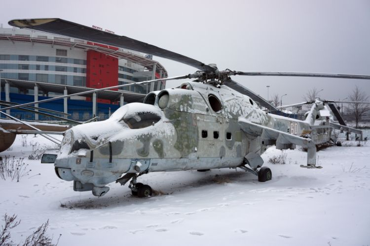 Mi-24 HIND GUNSHIP russian russia military weapon helicopter aircraft (64) wallpaper
