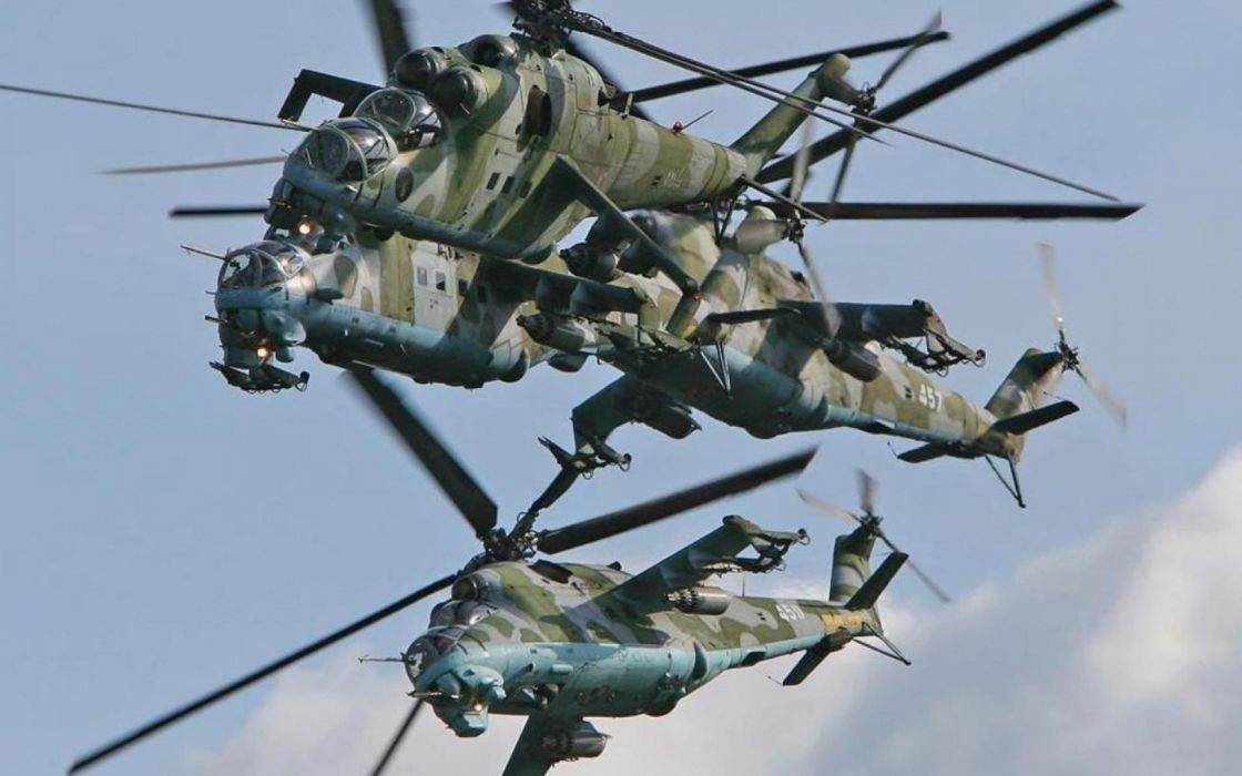 Mi-24 HIND GUNSHIP russian russia military weapon helicopter aircraft (53) wallpaper