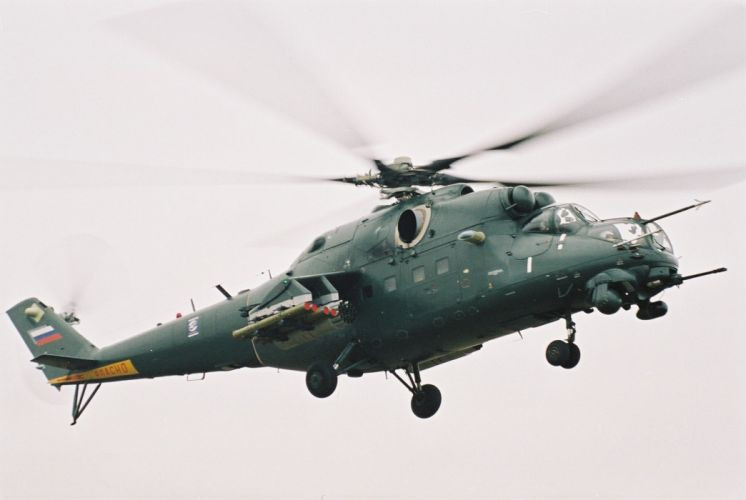 Mi-24 HIND GUNSHIP russian russia military weapon helicopter aircraft (52) wallpaper