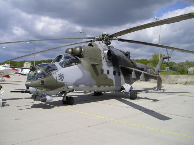 Mi-24 HIND GUNSHIP russian russia military weapon helicopter aircraft (79) wallpaper