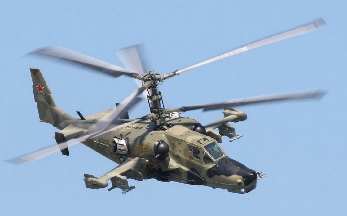 KAMOV KA-50 BLACK SHARK GUNSHIP attack helicopter military russian russia soviet weapon aircraft (4) wallpaper