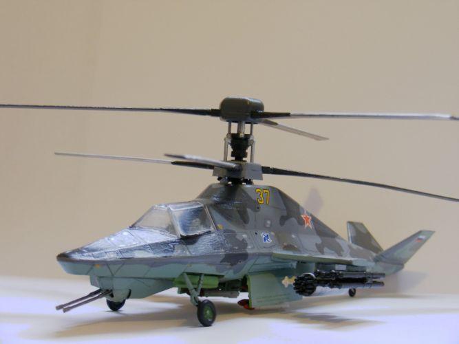KAMOV KA-50 BLACK SHARK GUNSHIP attack helicopter military russian russia soviet weapon aircraft (31)_JPG wallpaper