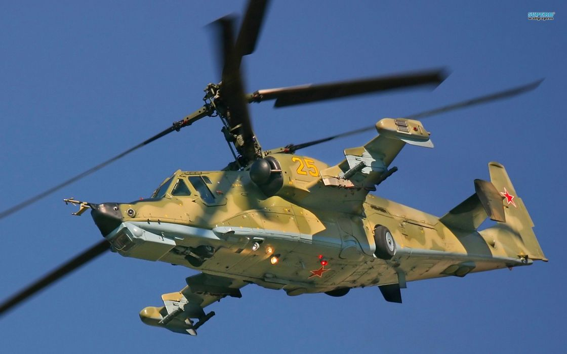 KAMOV KA-50 BLACK SHARK GUNSHIP attack helicopter military russian russia soviet weapon aircraft (23) wallpaper