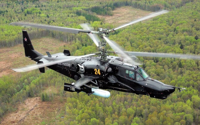 KAMOV KA-50 BLACK SHARK GUNSHIP attack helicopter military russian russia soviet weapon aircraft (18) wallpaper