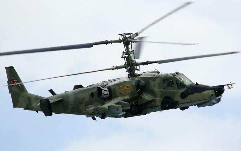 KAMOV KA-50 BLACK SHARK GUNSHIP attack helicopter military russian russia soviet weapon aircraft (55) wallpaper