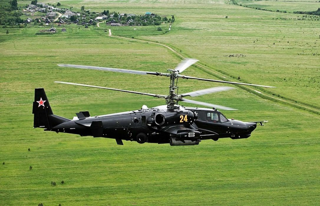 KAMOV KA-50 BLACK SHARK GUNSHIP attack helicopter military russian russia soviet weapon aircraft (43) wallpaper