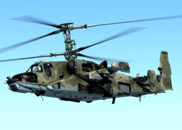 KAMOV KA-50 BLACK SHARK GUNSHIP attack helicopter military russian russia soviet weapon aircraft (42) wallpaper