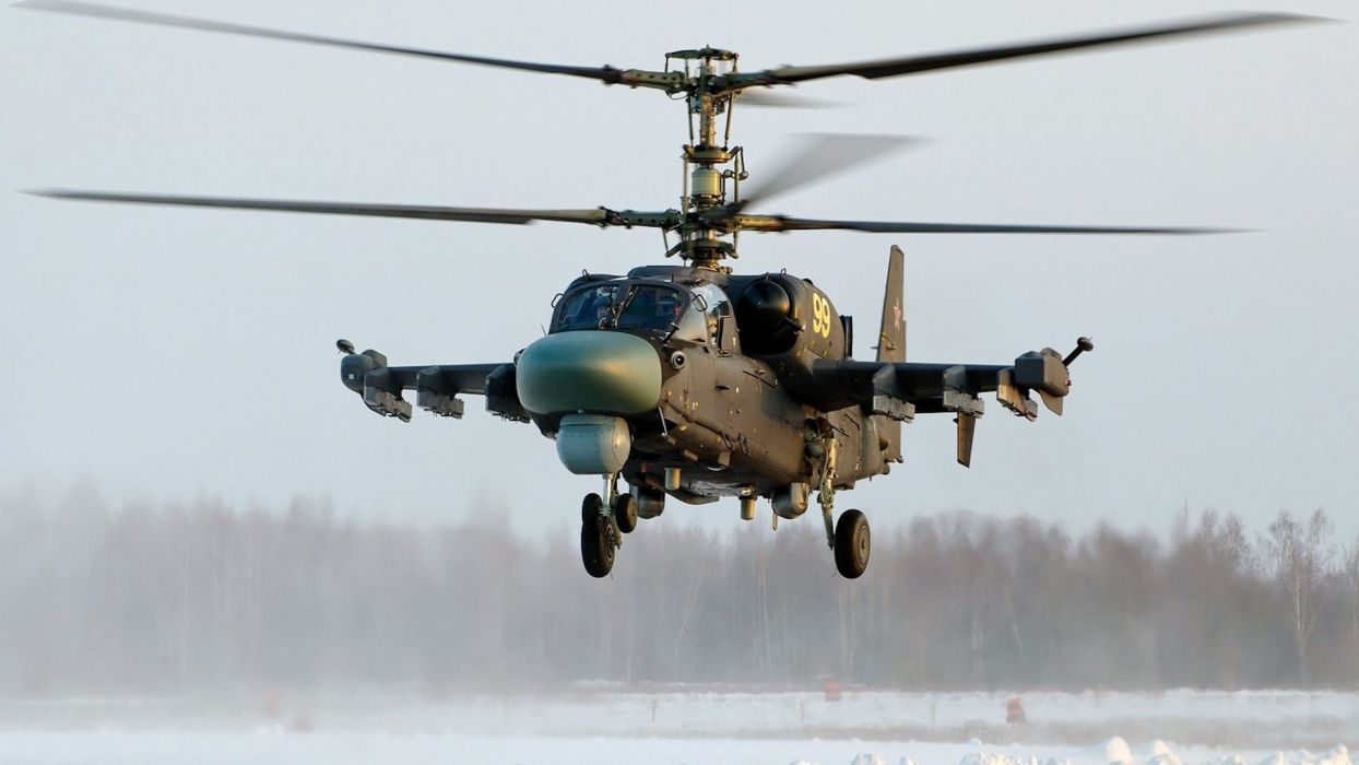 KAMOV KA-50 BLACK SHARK GUNSHIP attack helicopter military russian russia soviet weapon aircraft (61) wallpaper